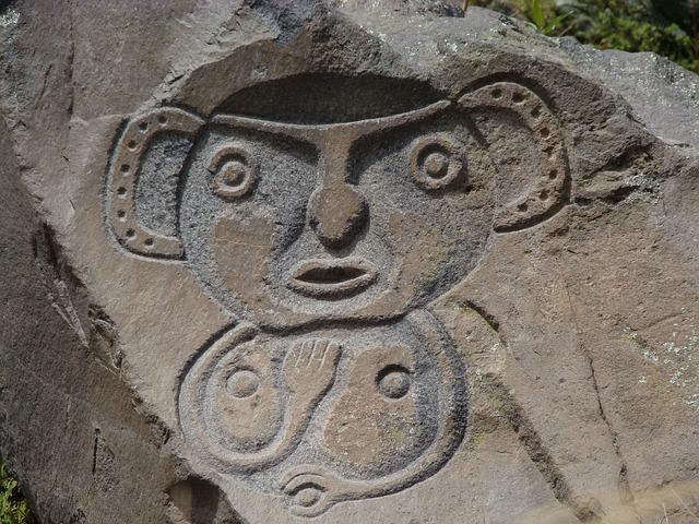 Monolith, Guano, Ecuador