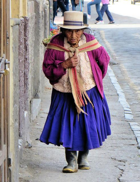 Ecuador, Cuenca, Peasant, Ethnic, Traditional Costume