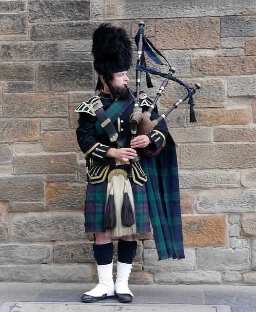Scotland, Edinburgh, Bagpipes, Tartan, Music