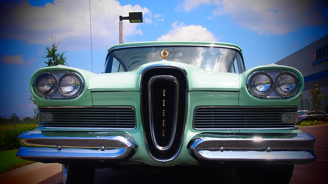 Auto, Retro, Oldtimer, Car, Ford, Edsel, Usa
