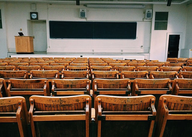 Classroom, Lecture Hall, College, Education, University
