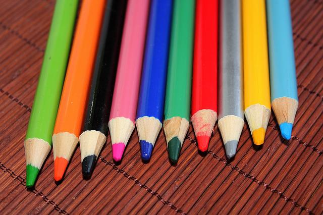 Crayons, Colors, Pencil, Sharp, Education, Creativity