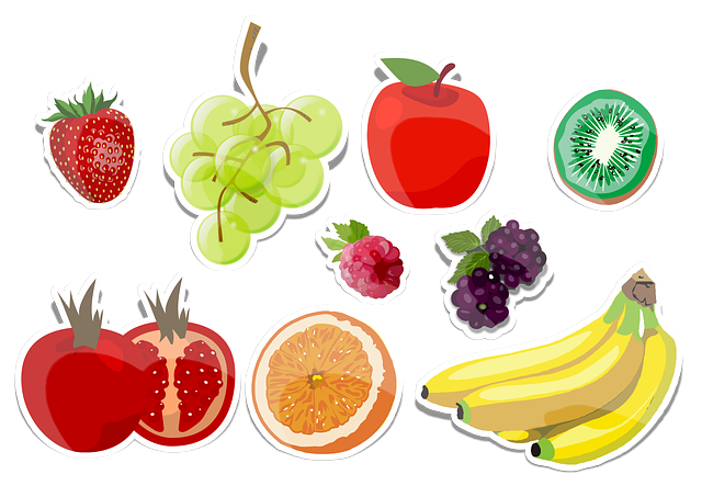 Fruits, Collection, Education, Health, Food, Vitamins