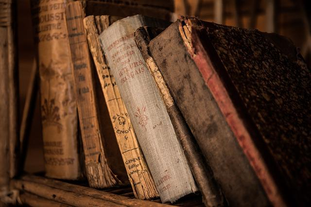 Old Books, Book, Old, Library, Education, Archive