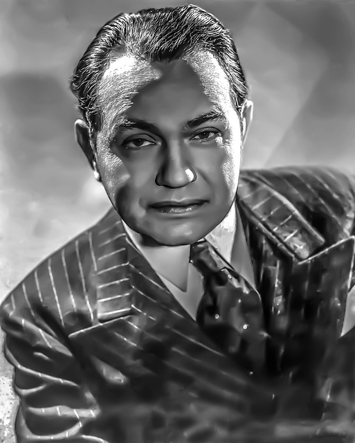 Edward G, Robinson - Male, Portrait, Stage, Hollywood