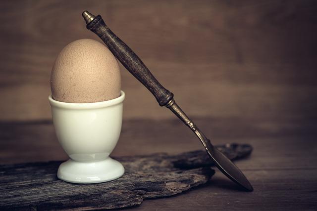 Egg, Breakfast Egg, Hen's Egg, Brown Egg, Boiled Egg