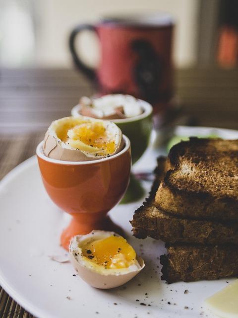 Breakfast, Eggs, Healthy, Boiled Eggs, Toast, Egg, Food