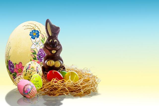 Easter, Egg, Easter Bunny, Easter Egg, Nest