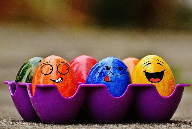 Easter, Easter Eggs, Funny, Colorful, Happy Easter, Egg