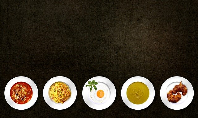 Food, Dishes, Meal, Cuisine, Soup, Pasta, Egg, Bread