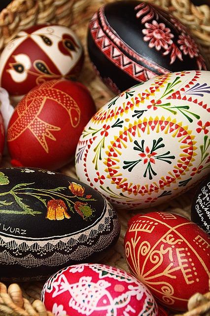 Easter, Egg, Easter Eggs, Spring, Color, Ornaments