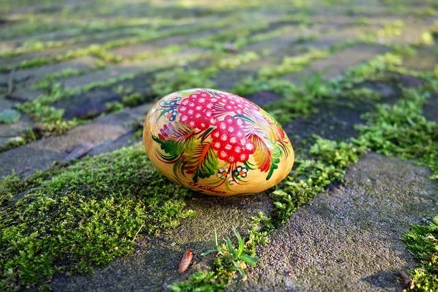 Egg, Wooden, Wooden Egg, Painted Egg, Decoration