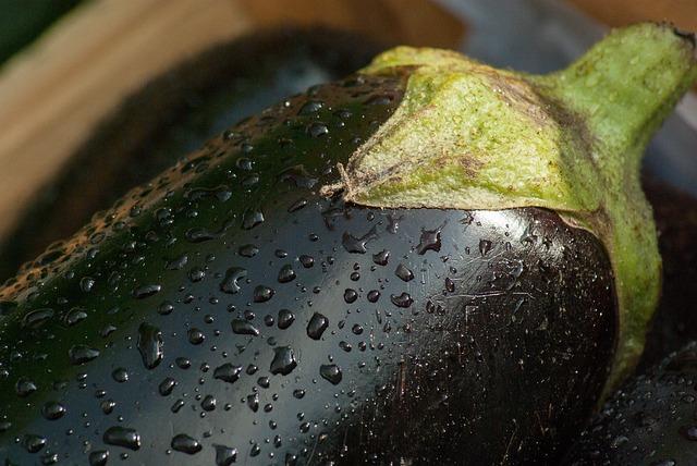 Vegetable, Eggplant, Market, Vegetable Garden