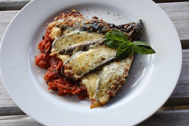 Eggplant, Aubergine, Parmigiana, Vegetarian