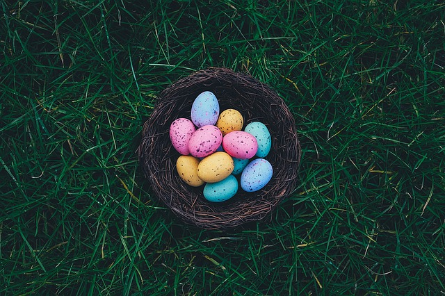 Eggs, Easter Eggs, Egg Hunt, Easter Egg Hunt, Basket