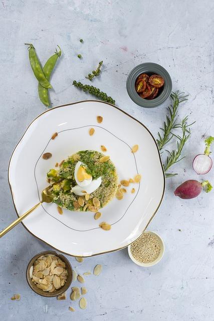 Food, Eggs, Ingredients, Meal, Plate