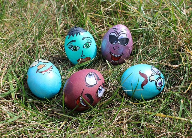 Easter, Lawn, Easter Egg, Eggs, Easter Eggs