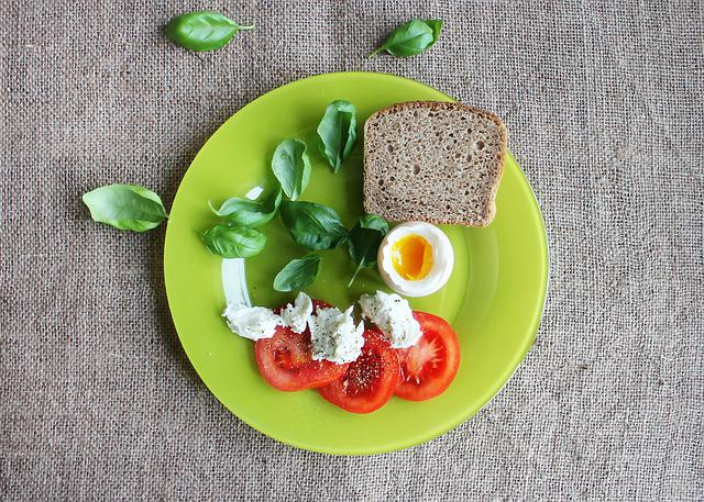 Tomatoes, Eggs, Dish, The Green Plate, Natural