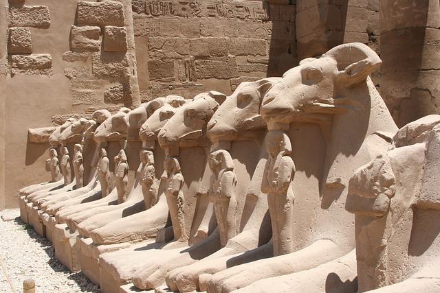 Egypt, Luxor, Karnak Temple, Animal, Hieroglyph
