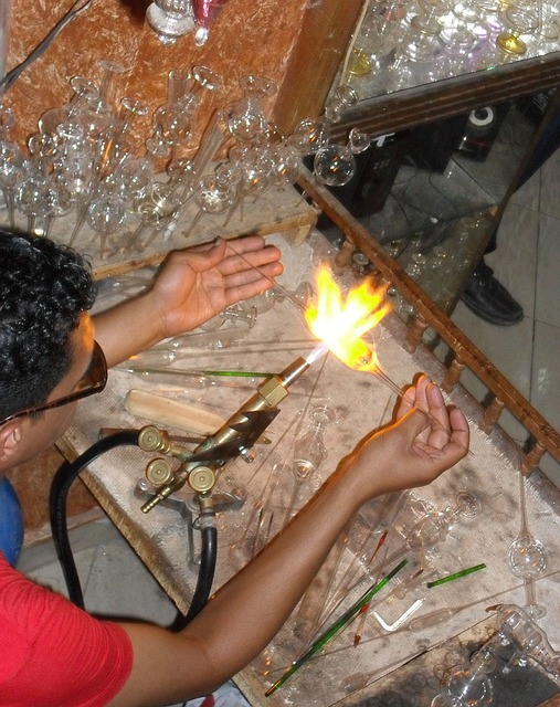 Glass Blower, Egypt, Arts Crafts