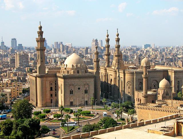 Cairo, Mosque, Egypt, Islam, Architecture, Buildings
