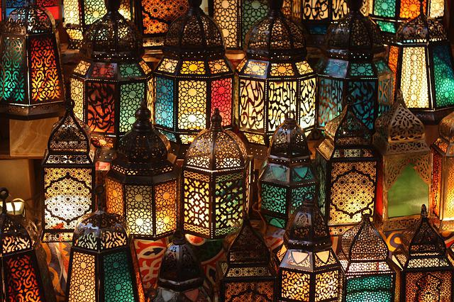 Egypt, Cairo, Lamps, Shining, Bazaar, Orient, Lights