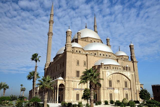 Egypt, Cairo, Muhammad-ali-mosque, Architecture