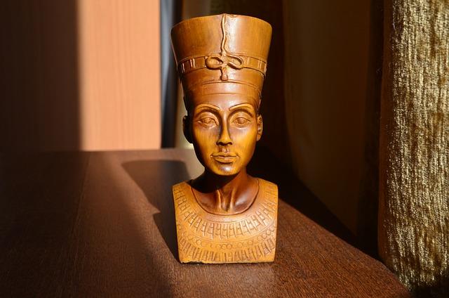 Nefertiti, The Wife Of The King Akhenaten, Egypt