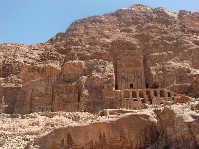 Petra, Egypt, Jordan