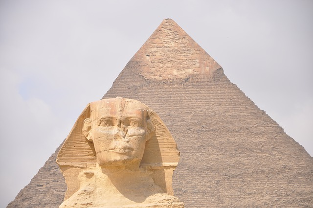 Egypt, Sphinx, Pyramid, Cairo, Giving, Monument