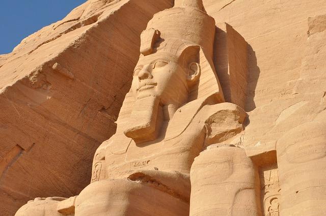 Egypt, Desert, Sculpture, Architecture
