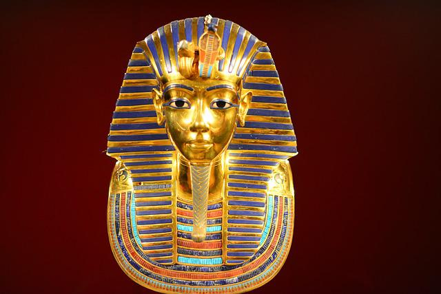 Tutankhamen, Gold, Egypt, Pharaoh, King, Egyptian