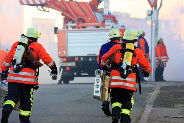 Ehrenamt, Fire, Vehicles, Feuerloeschuebung, Fire Truck
