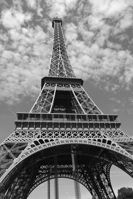 Eiffel Tower, Paris, France, Tower, Landmark, Europe