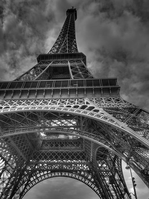 Eiffel Tower, Tower, Paris, France, World's Fair