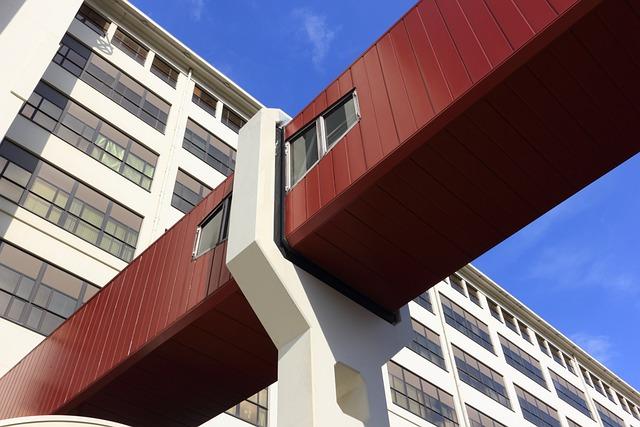 Netherlands, Eindhoven, Ex Philips, Walkway