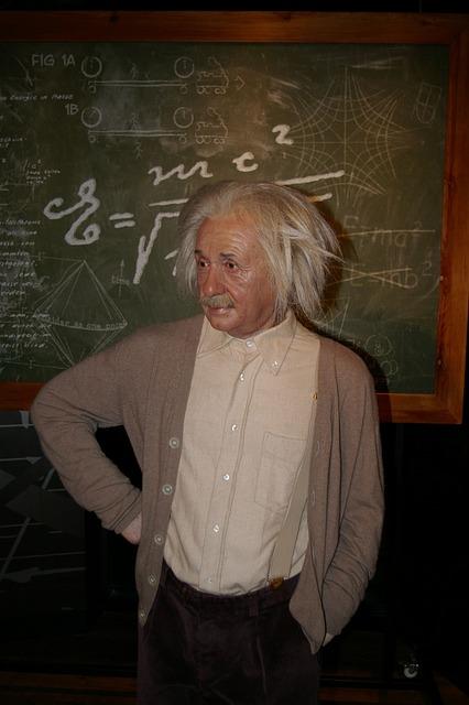 Wax Figure, Berlin, Einstein