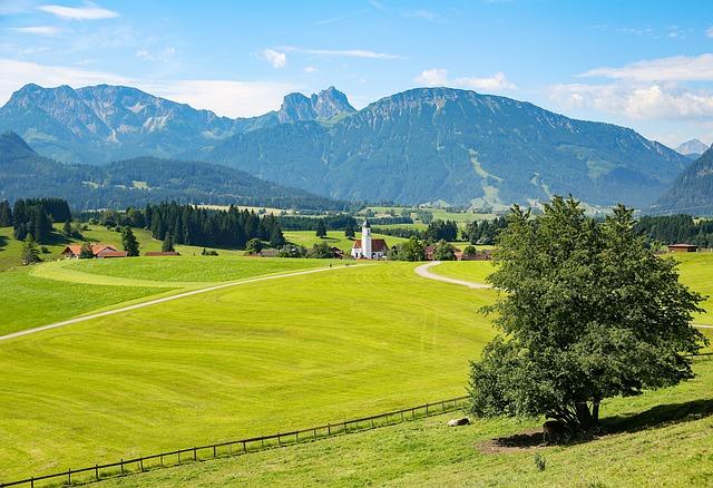 Allgäu, Eisenberg, Ostallgäu, Bavaria, Mountains