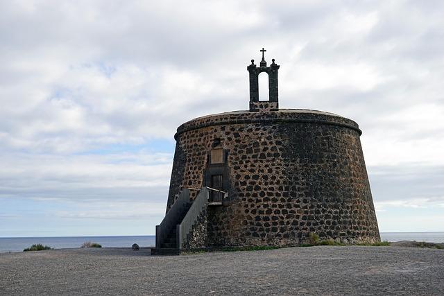 El Castillo O Torre Del Aguila, Lanzarote, South Coast