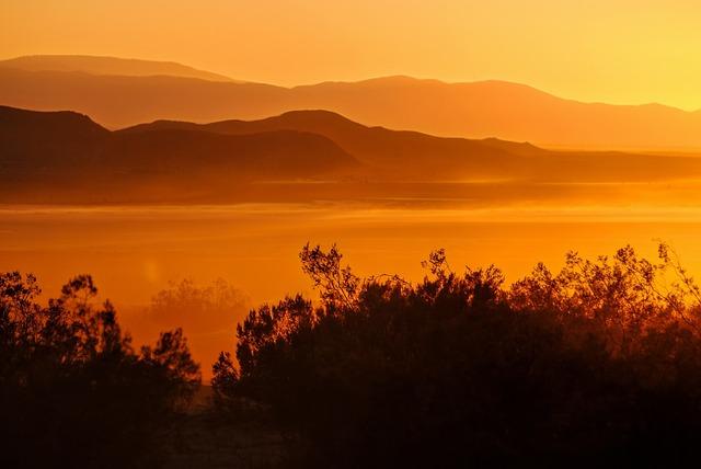El Mirage Lake, Sunset, Mirage, Desert, California