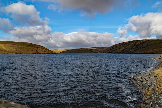 Claerwen, Elan Valley, Wales, Water, Dam, Reservoir