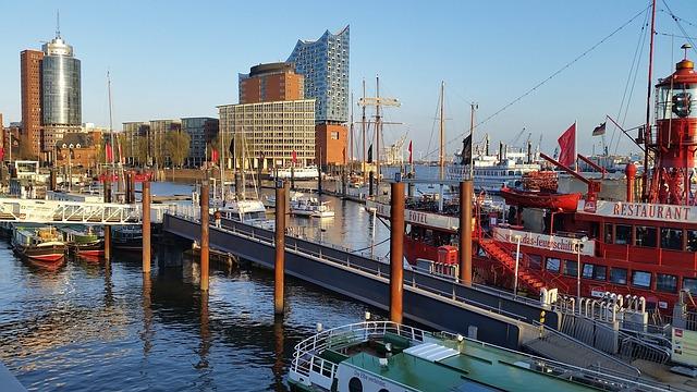Elbe Philharmonic Hall, Hamburg, Elbe, Ship