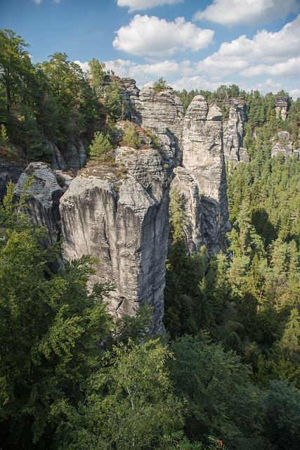 Rock, Saxon Switzerland, Elbe Sandstone Mountains