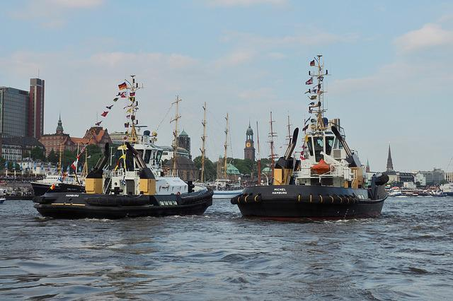 Hafengeburtstag, Hamburg, Elbe, Port, Traffic, Maritime