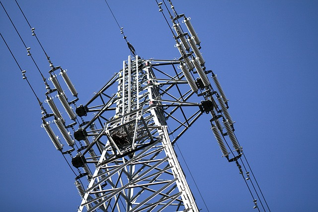 Power Line, High-voltage Line, Tower, Electric Cable