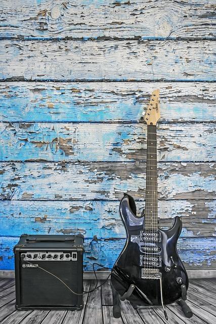 Guitar, Electric Guitar, Strings, Pickup, Amplifier