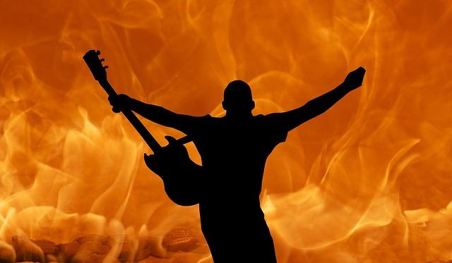 Guitar, Rock, Metal, Music, Electric, Concert