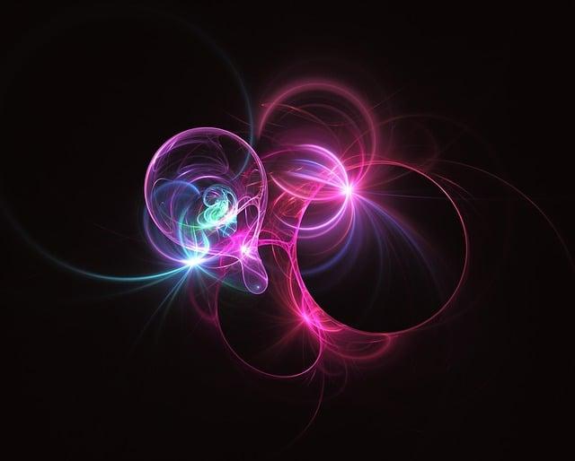 Fractal, Light, Light Fractal, Electric, Energy, Cosmic