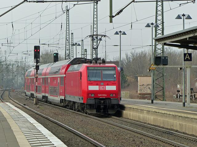 Db, Deutsche Bahn, Railway, Br146, Electric Locomotive