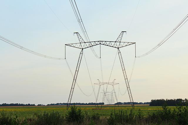 Wire, Pillars, Lap, Transmission Towers, Electricity